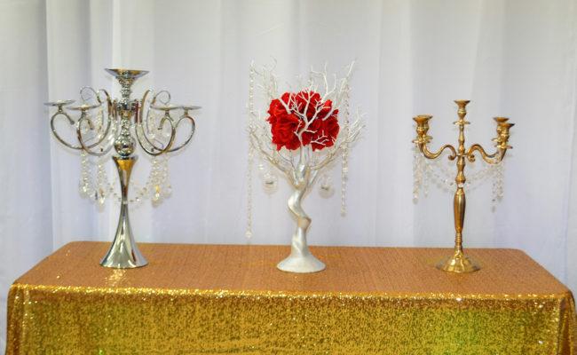 accesorios candelabros